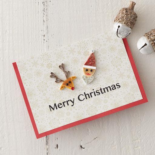 クリスマスカード『ペーパークイリング レッスンブック』